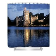 Blackrock Castle, River Lee, Near Cork Shower Curtain