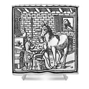 Blacksmith, C1250 Shower Curtain