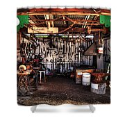 Blacksmith Shop By Kaye Menner Shower Curtain