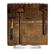 Blacksmith Tools Shower Curtain