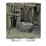 Blacksmith's Bucket Shower Curtain