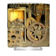 Blacksmiths Shop Shower Curtain