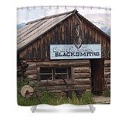 Blacksmiths Shower Curtain