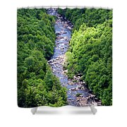 Blackwater Canyon #3 Shower Curtain