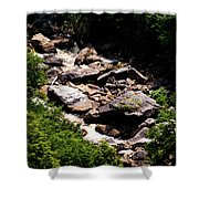 Blackwater Canyon #4 Shower Curtain