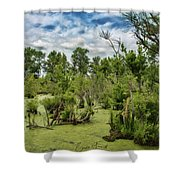 Blackwater Swamp Shower Curtain