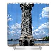 Blackwell Island Lighthouse Shower Curtain
