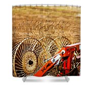 Blades Shower Curtain
