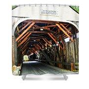 Blair Bridge, Campton Nh Shower Curtain