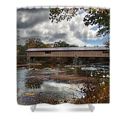 Blair Covered Bridge Shower Curtain