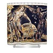 Blake: Jerusalem, 1804 Shower Curtain