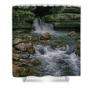 Blanchard Springs Shower Curtain