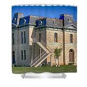 Blanco County Courthouse Shower Curtain