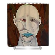 Blanco Creature Feature Shower Curtain