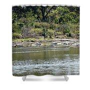 Blanco River - Texas Shower Curtain
