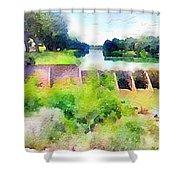 Blanco River Shower Curtain