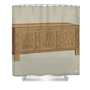 Blanket Chest Shower Curtain