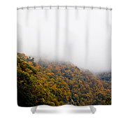 Blanket Of Clouds Shower Curtain by DigiArt Diaries by Vicky B Fuller
