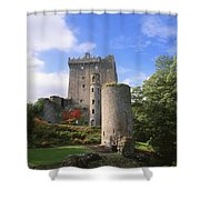 Blarney Castle, Co Cork, Ireland Shower Curtain by The Irish Image Collection