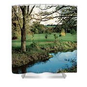 Blarney Castle Grounds Shower Curtain