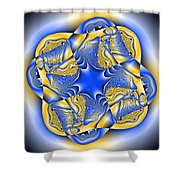 Blasphyxia Shower Curtain