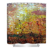 Blazing Prairie Shower Curtain