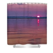 Blazing Sunrise  Shower Curtain