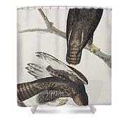 Blck Warrior Shower Curtain