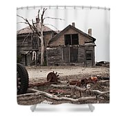 Bleak House Shower Curtain