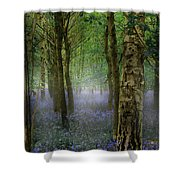 Blebells Shower Curtain