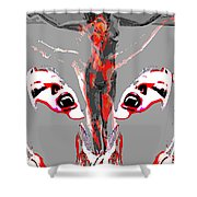 Bled For Life Shower Curtain