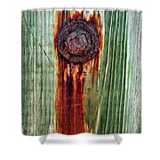 Bleeding Bolt Shower Curtain