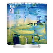 Bleen Shower Curtain