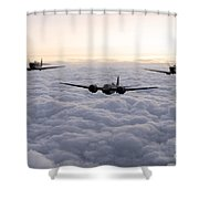 Blenheim And The Fighters Shower Curtain