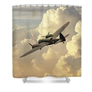 Blenheim Bird Shower Curtain