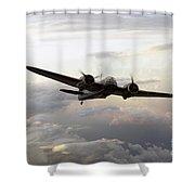 Blenheim Flight Shower Curtain