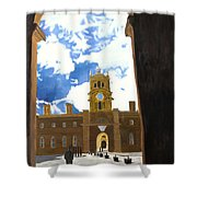 Blenheim Palace England Shower Curtain