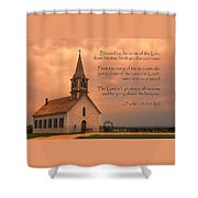 Bless The Lord Shower Curtain