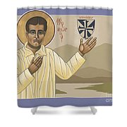 Blessed Pier Giorgio Frassati 197 Shower Curtain