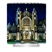 Blessed Sacrement Cathedral Shower Curtain