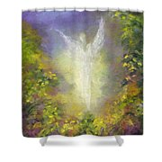 Blessing Angel Shower Curtain