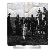 Blessings And Dreams Shower Curtain
