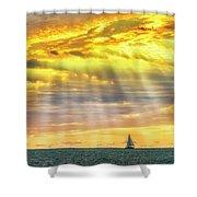 Blessings Bestowed  7848 Shower Curtain