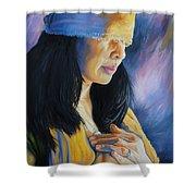 Blind Love Shower Curtain