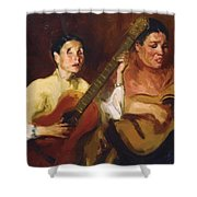 Blind Singers 1912 Shower Curtain