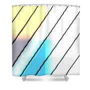 Blind1 Shower Curtain