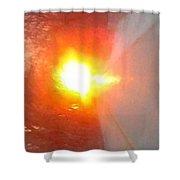 Blinding Iowa Sunrise Shower Curtain
