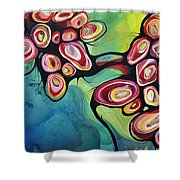 Bliss And Detachment Shower Curtain
