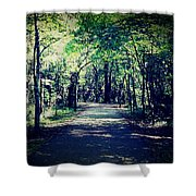 Bliss Of Solitude Wander Shower Curtain