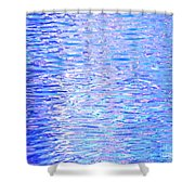 Blissful Blue Ocean Shower Curtain